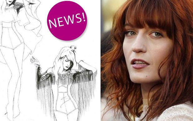Florence Welch dla Topshop - elektryzuj�cy news czy niepotwierdzona plotka?