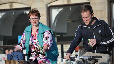 W bezpieczniejszej od wszystkich miast w Polsce Kopenhadze widok rowerzysty z piwem w ręku nie jest niczym dziwnym.