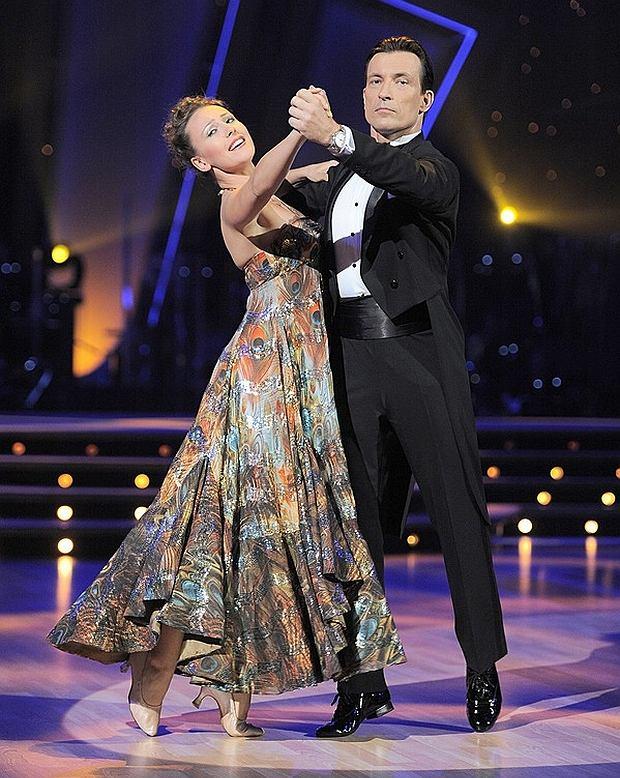 Blanka Winiarska tańczy w parze z Dariuszem Kordkiem. Winiarska w ''Tańcu z Gwiazdami'' jest już od wielu edycji.