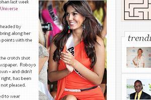 Miss Kolumbii bez majtek?! FOTO