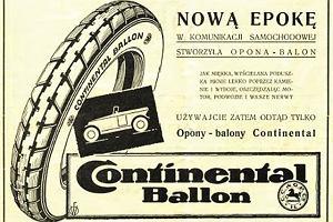 100 lat Continentala w Polsce