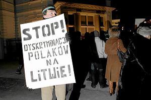 Litwa: Ostateczna decyzja. Usun� polskie nazwy ulic
