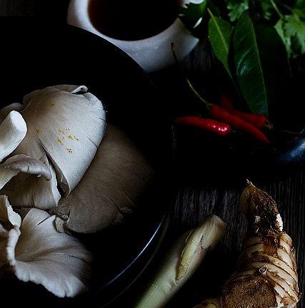 Zupa z kurczakiem i mlekiem kokosowym