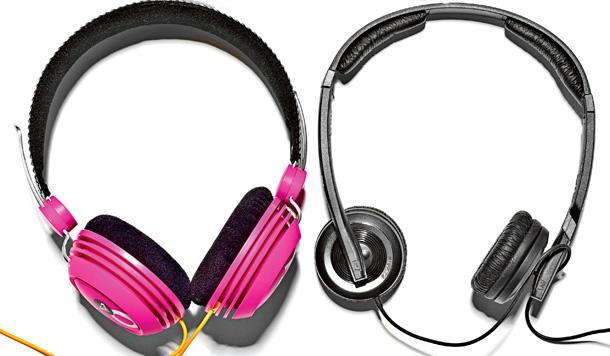 słuchawki, nauszne