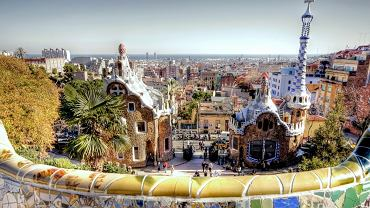 Barcelona zdjęcia, Hiszpania wycieczki - Park Guell