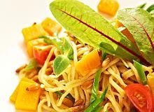 Spaghetti z dyni� i orzeszkami sosnowymi - ugotuj