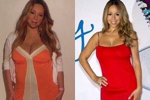 30 kwietnia tego roku amerykańska diwa i jej mąż, prowadzący amerykańską wersję 'Mam Talent' Nick Cannon, zostali szczęśliwymi rodzicami bliźniąt - dziewczynki o imieniu Monroe i chłopca Moroccan. Ta data ma także inne ważne znaczenie dla pary - była to trzecia rocznica ich ślubu. Mariah Carey mocno przytyła w ciąży. Wczoraj, po 6 miesiącach od porodu, pokazała światu swoją odchudzoną figurę. Została ambasadorką diety Jenny Craig. Dieta ta jest łatwa w zastosowaniu. Gotowe i dokładnie wymierzone pod względem odżywczym i kalorycznym posiłki są przysyłane przez firmę Jenny Craig prosto do domu. Jak widać, wystarczy tylko podgrzewać jedzenie w mikrofalówce, mieć mnóstwo pieniędzy, trochę silnej woli i efekt gwarantowany. Na konferencji prasowej Mariah zaprezentowała się w długiej czerwonej i obcisłej sukience, podkreślającej świeżo odzyskane kształty.