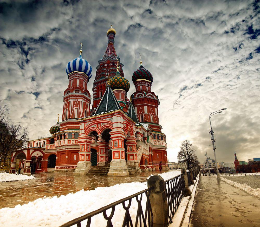 Moskwa zimą. Rosja / fot. Shutterstock