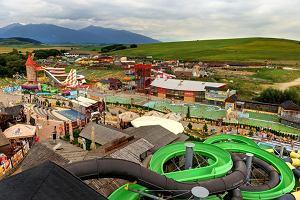 Słowacja. Tatralandia - największy aquapark i baseny termalne na Słowacji