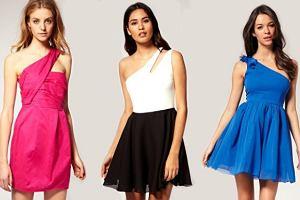 Sukienki na jedno rami� - przegl�d