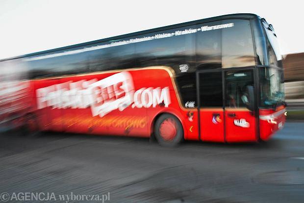Wypadek autobusu PolskiBus jad�cego do Gda�ska. Jedna osoba nie �yje