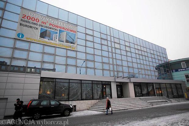 Nowe centrum usługowo-biznesowe przy ul. Małachowskiego 1 w Sosnowcu, luty 2011