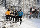 W Beskidach na dobre zacz�� si� sezon narciarski