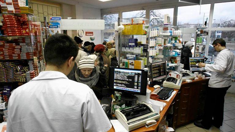 W aptekach coraz większy ruch