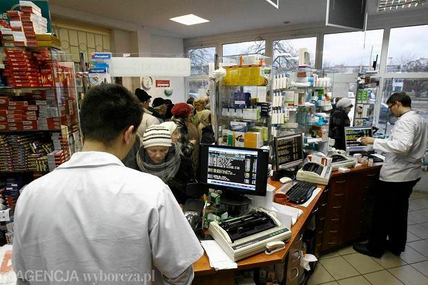W aptekach coraz wi�kszy ruch