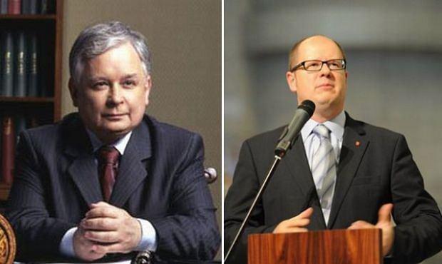 Paweł Adamowicz, Lech Kaczyński