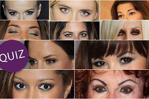 QUIZ: Która gwiazda tak maluje oczy?