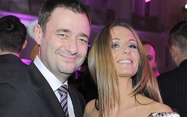 Jacek Rozenek i Ma�gorzata Kostrzewska-Rozenek.