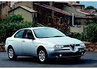 ALFA ROMEO 156 97-02, rok produkcji 1998, sedan, widok przedni prawy, samoch�d 4-drzwiowy, kolor silver grey
