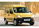 RENAULT Kangoo 98-03, rok produkcji 1998, kombi, widok przedni prawy, samoch�d 5-drzwiowy, kolor ��ty