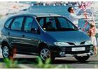 RENAULT Megane Scenic 96-99, rok produkcji 1996, mpv, widok przedni prawy, samoch�d 5-drzwiowy, kolor zielony