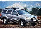 JEEP Grand Cherokee 99-05, rok produkcji 1999, kombi, widok przedni prawy, samoch�d 5-drzwiowy, kolor silver grey