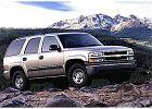 CHEVROLET Tahoe 00-06, rok produkcji 2000, kombi, widok przedni prawy, samoch�d 5-drzwiowy, kolor silver grey