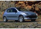PEUGEOT 206 98-03, rok produkcji 1999, coupe, widok przedni prawy, samoch�d 3-drzwiowy, kolor silver grey