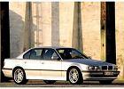 BMW Seria 7 [E38] 94-02, rok produkcji 1998, sedan, widok przedni prawy, samoch�d 4-drzwiowy, kolor silver grey