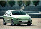 FIAT Bravo 95-02, rok produkcji 1998, coupe, widok przedni prawy, samoch�d 3-drzwiowy, kolor zielony jasny