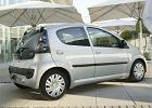 CITROEN C1 05-09 2005 coupe tylny prawy - Zdjęcia