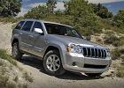 JEEP Grand Cherokee 07-10, rok produkcji 2008, kombi, widok przedni prawy, kolor silver grey