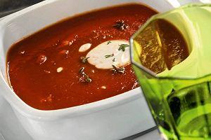 Zupa pomidorowa zwódką