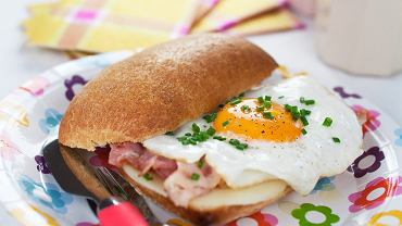Ciabatki z serem i jajkami