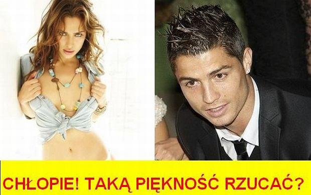 Irina Shayk  Cristiano Ronaldo   Fot  Kola   Plotek