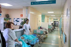 Dantejskie sceny na internie w szpitalu na J�zefowie
