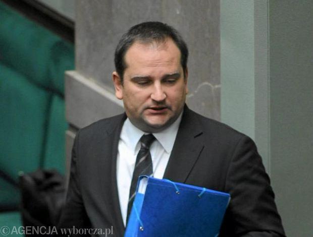 Szef Kancelarii Premiera Tomasz Arabski
