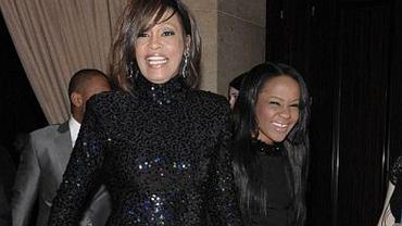 Whitney Houston i Bobbi Kristina Brown.