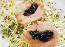 Roladki wieprzowe z suszonymi śliwkami - ugotuj