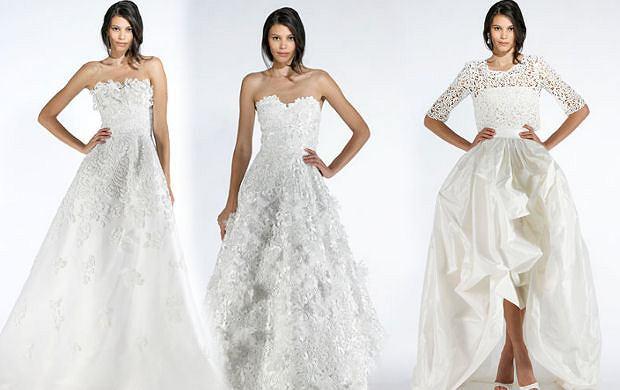 7a5933a60e Oscar de la Renta - kolekcja ślubna wiosna 2012