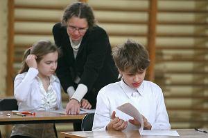 Sz�stoklasi�ci zacz�li egzamin. Rodziny trzymaj� kciuki