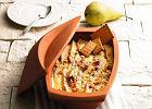 Zapiekanka serowa z gruszkami