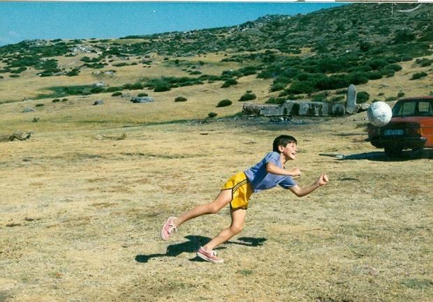 Ma�y Iker Casillas w roku 1988