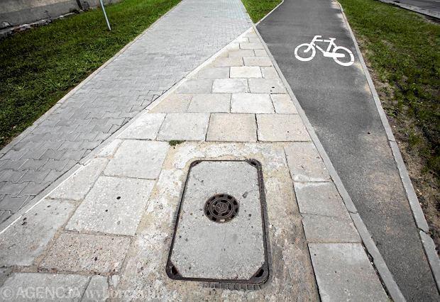 Zobacz rowerowe absurdy: slalom, s�upki i �lepe �cie�ki