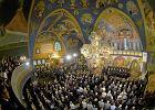 Muzyka cerkiewna w soborze. W Hajnówce zatop się w innym świecie