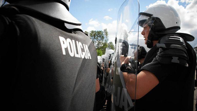 Ćwiczenia policji przed Euro 2012