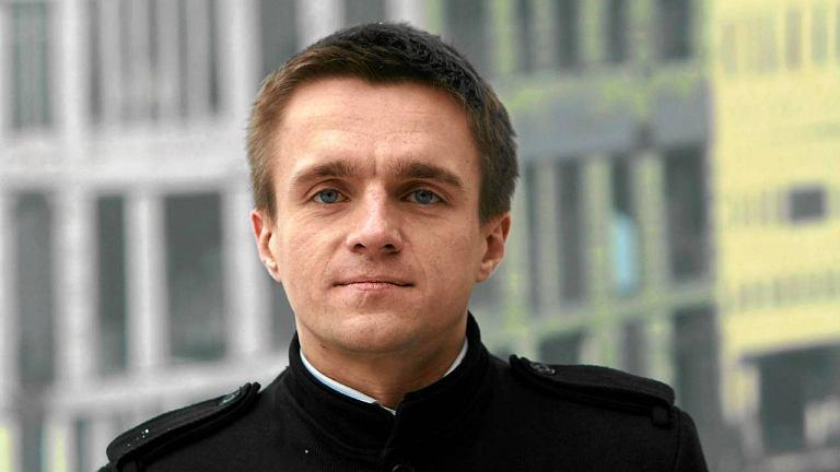 Leszek Jażdżewski, redaktor naczelny ''Liberte''