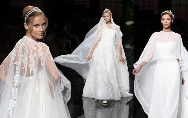 de0c2e88bb Suknie ślubne z peleryną - dobra alternatywa dla welonu