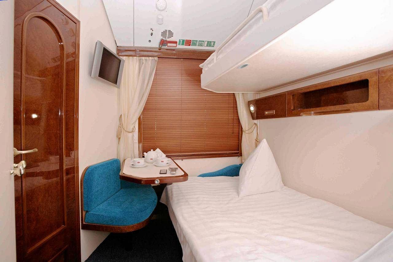 Luksusowy poci g stanie w stolicy bilety za 900 euro - Trenitalia vagone letto ...