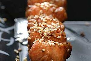 Yakitori z łososia (szaszłyki)